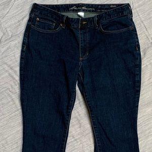 Eddie Bauer jeans Curvy Straight